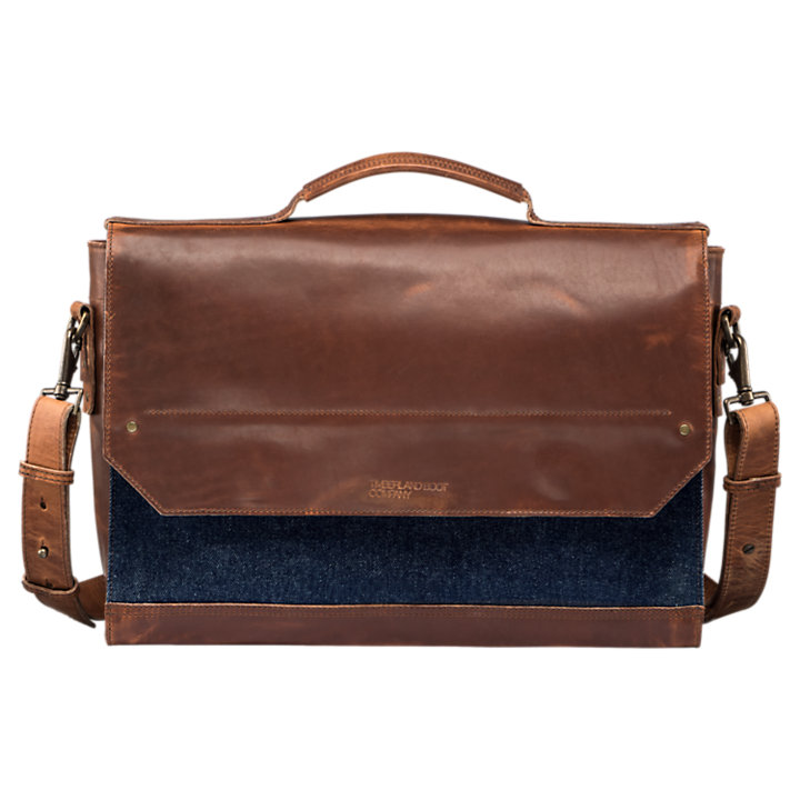 Coulter Denim Messenger Bag-