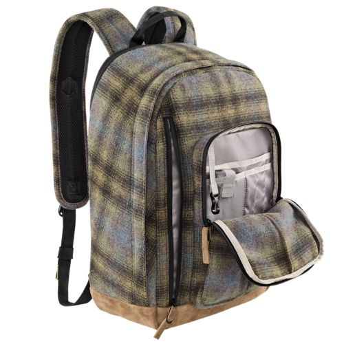 23-Liter Backpack with Woolrich® Fabric-