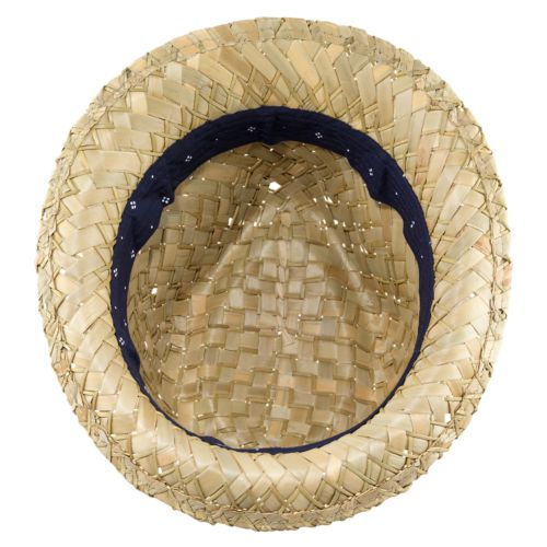 Phillips Beach Straw Fedora Hat-