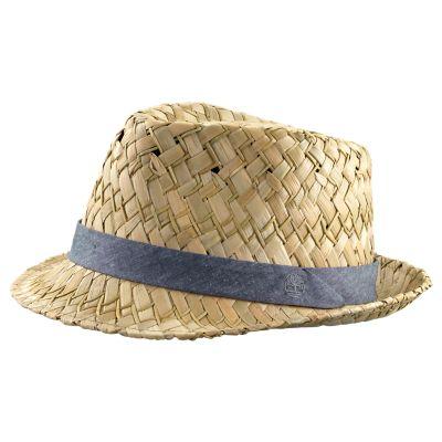 Phillips Beach Straw Fedora Hat