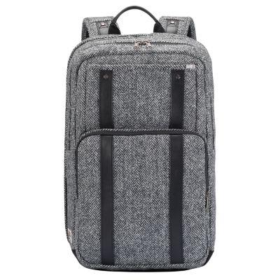 City Premium 27-Liter Harris Tweed® Fabric Backpack