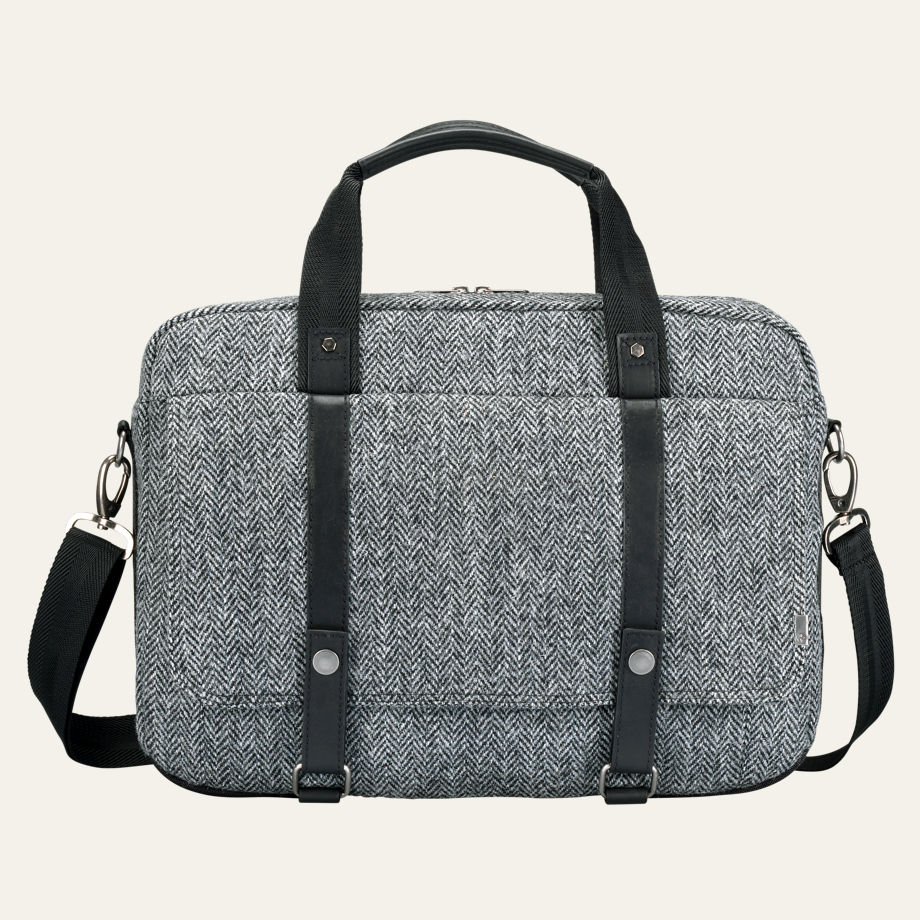 City Premium Harris Tweed® Fabric Briefcase