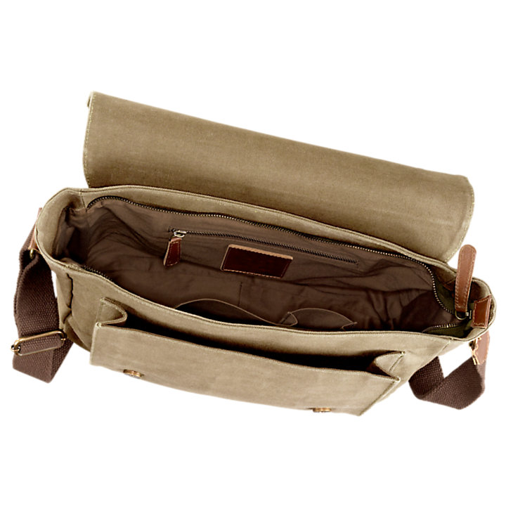 Lyndon Canvas Messenger Bag | Timberland US Store