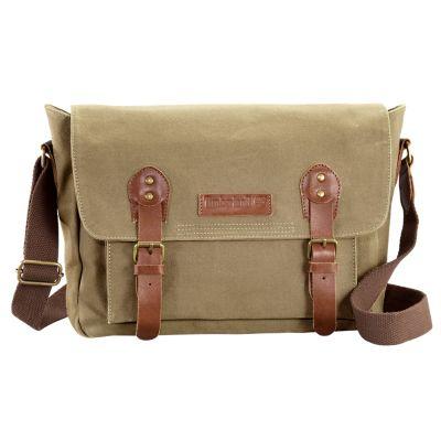 Lyndon Canvas Messenger Bag