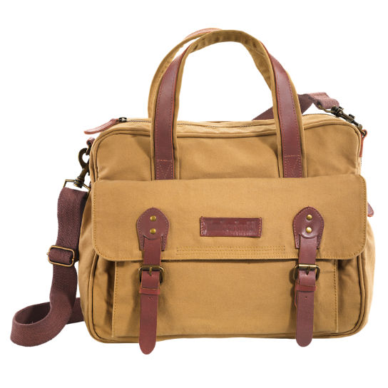 Lyndon Canvas Briefcase | Timberland US Store