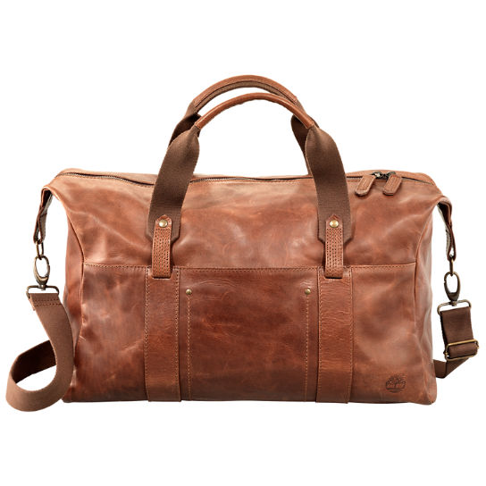 Winnegance Leather Duffle Bag