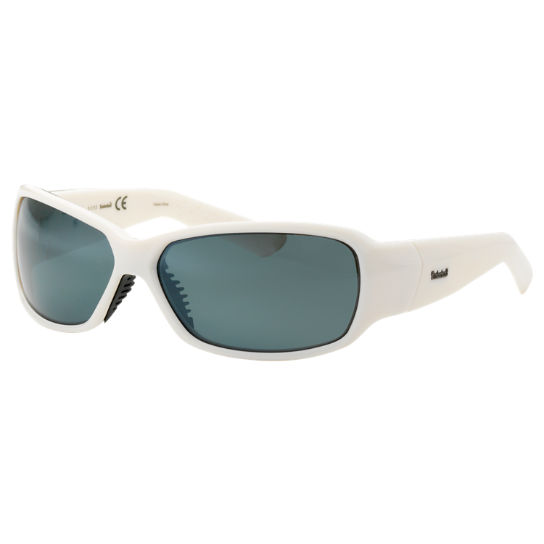 Plastic Frame Wrap Polarized Sunglasses