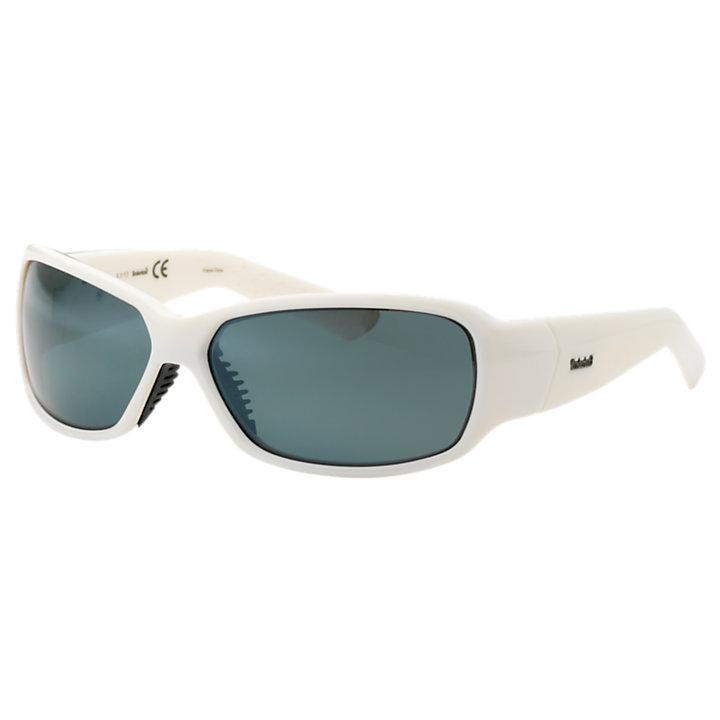 Plastic Frame Wrap Polarized Sunglasses-