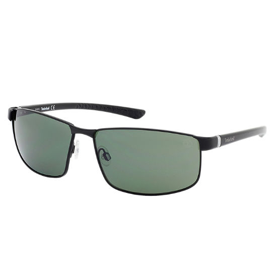Metal Wrap Polarized Sunglasses