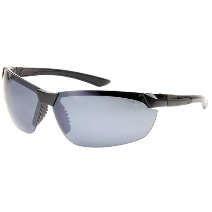 Crawley Semi-Rimless Polarized Wrap Sunglasses-