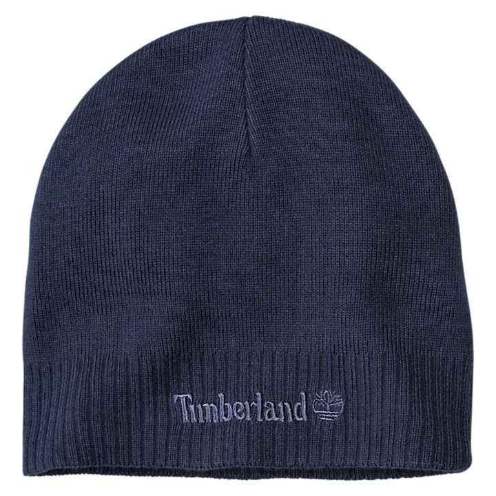 Timberland Boy`s Ribbed Cuffed Knit Beanie