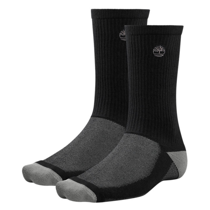 Men's CoolMax® Polyester Crew Socks (2-Pack)-