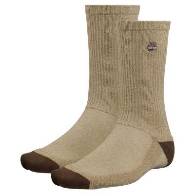 Men's CoolMax® Polyester Crew Socks (2-Pack)