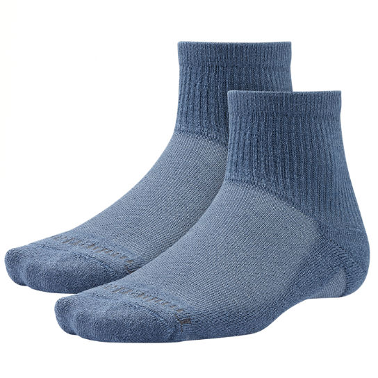 Men's CoolMax® Polyester Quarter Socks (2-Pack)
