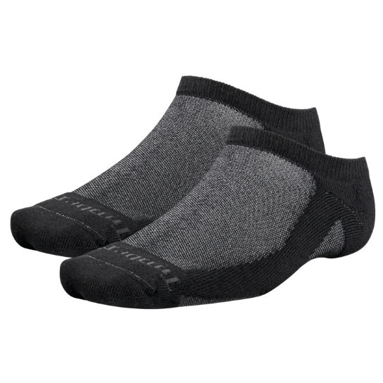 Men's CoolMax® Polyester No-Show Socks (2-Pack)