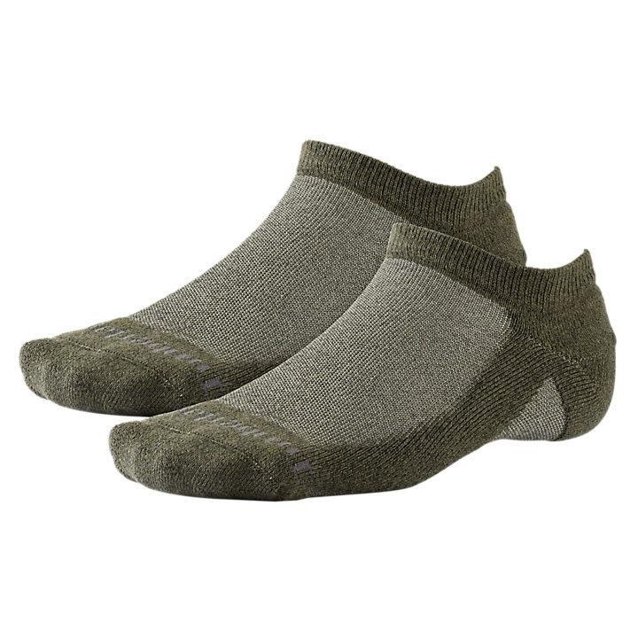Men's CoolMax® Polyester No-Show Socks (2-Pack)-