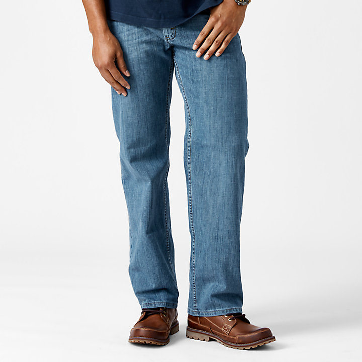 Men's Relaxed Fit Denim Pant-