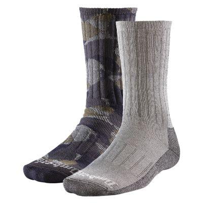 Men's Camo Crew Socks (2-Pack)