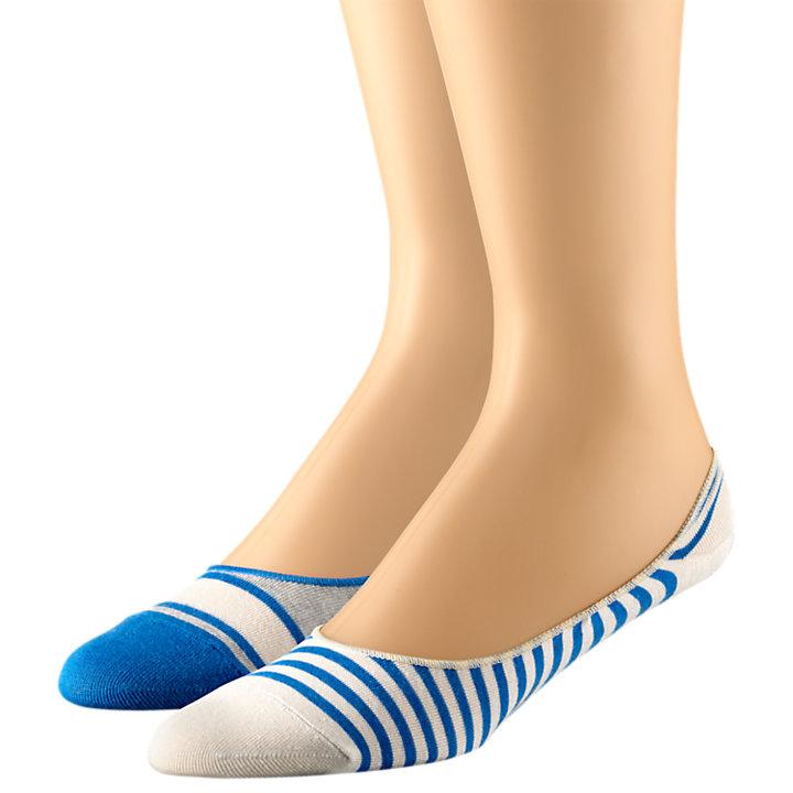 Men's Striped Liner Sock 2-Pack-