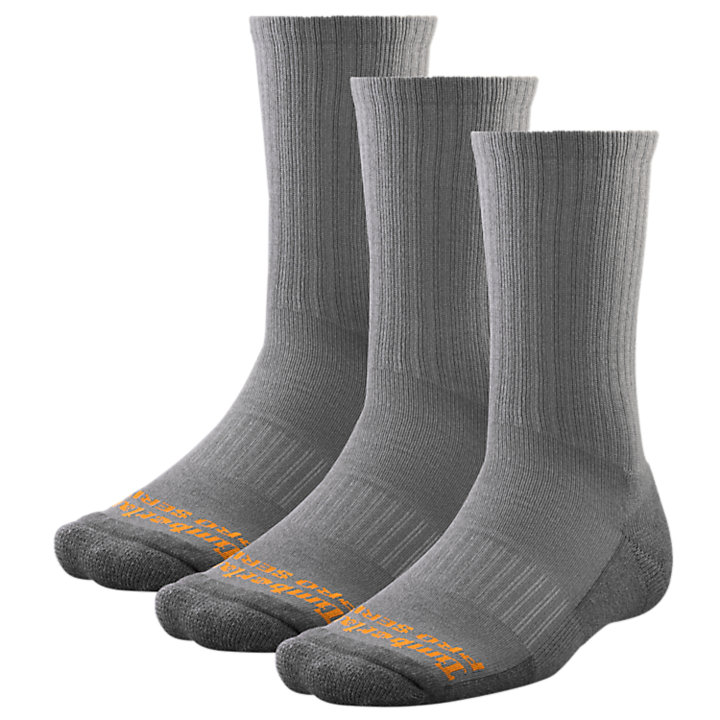 Men's Timberland PRO® Cooling Crew Socks (3-Pack)-