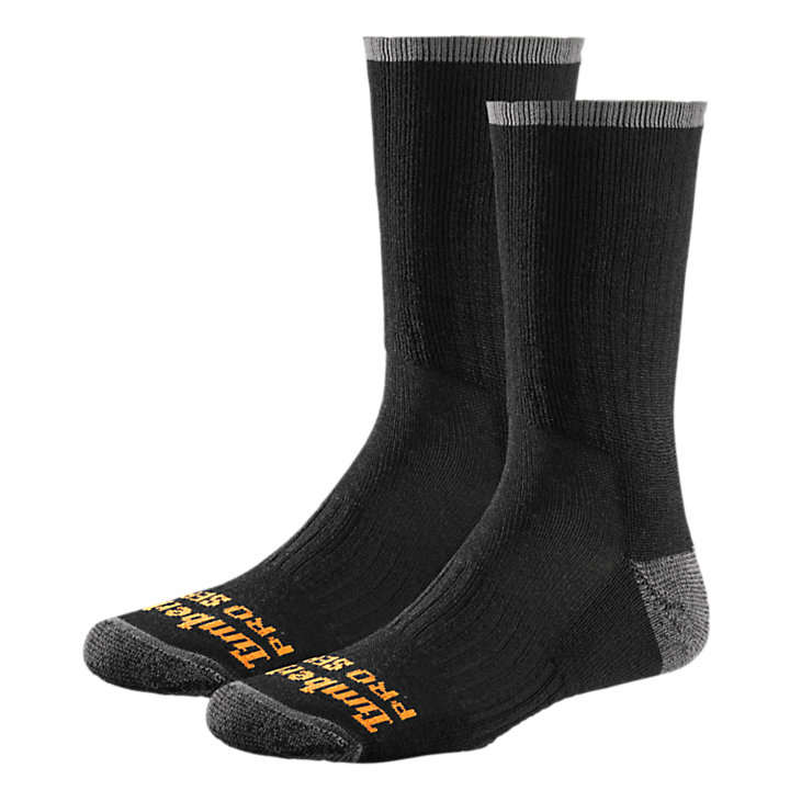 Men's Timberland PRO® Wool Blend Crew Socks (2-Pack)-