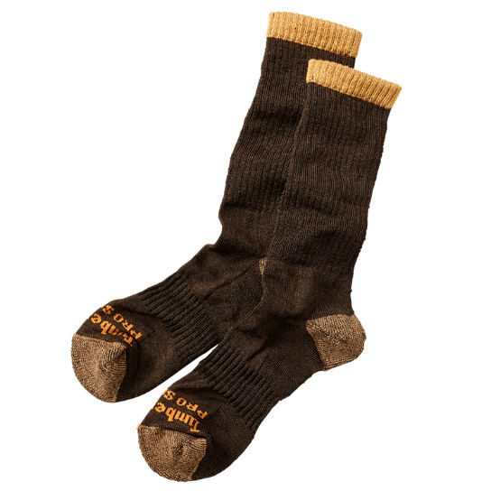 Men's Timberland PRO® Merino Wool Crew Socks (2-Pack)