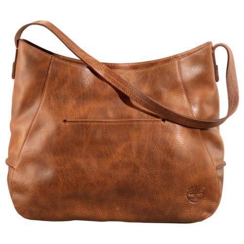 Biddeford Leather Hobo Handbag-