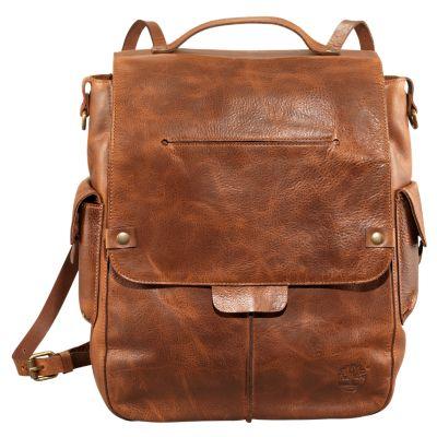 Biddeford Leather Backpack