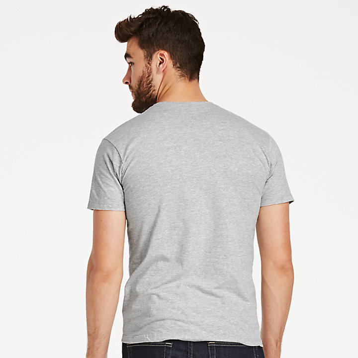 Men's Classic Heathered Logo T-Shirt-