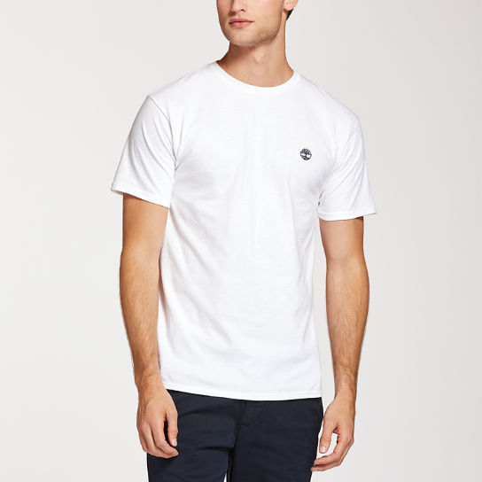 Men's Classic Embroidered Logo T-Shirt