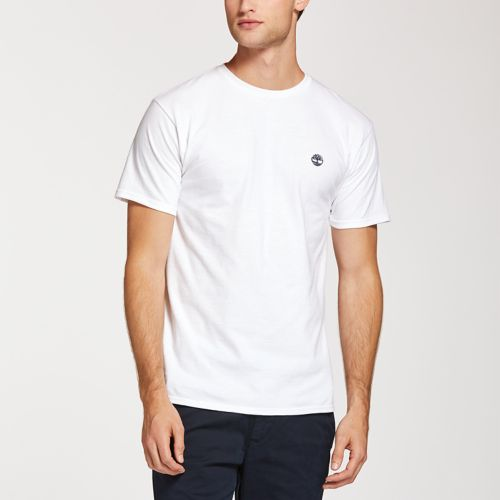 Men's Classic Embroidered Logo T-Shirt-