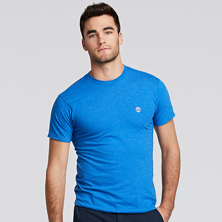 Men's Classic Heathered Logo T-Shirt-
