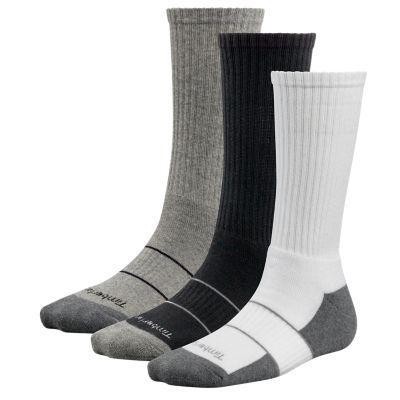 Women's Basic Crew Socks (3-Pack)