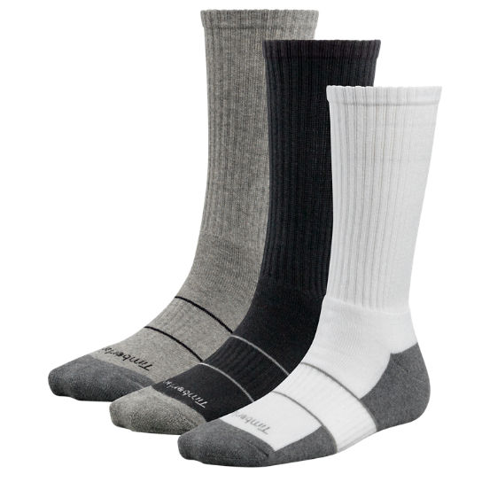 Women's Basic Crew Socks (3-Pack)