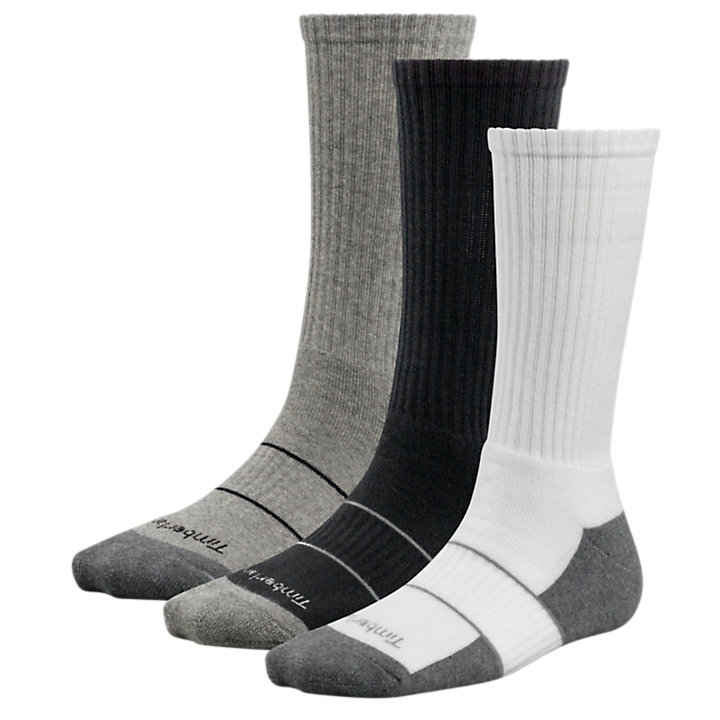 Women's Basic Crew Socks (3-Pack)-