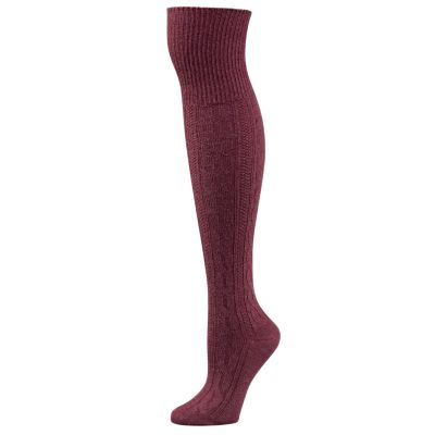 Women's Casual Over-the-Knee Cable-Knit Socks