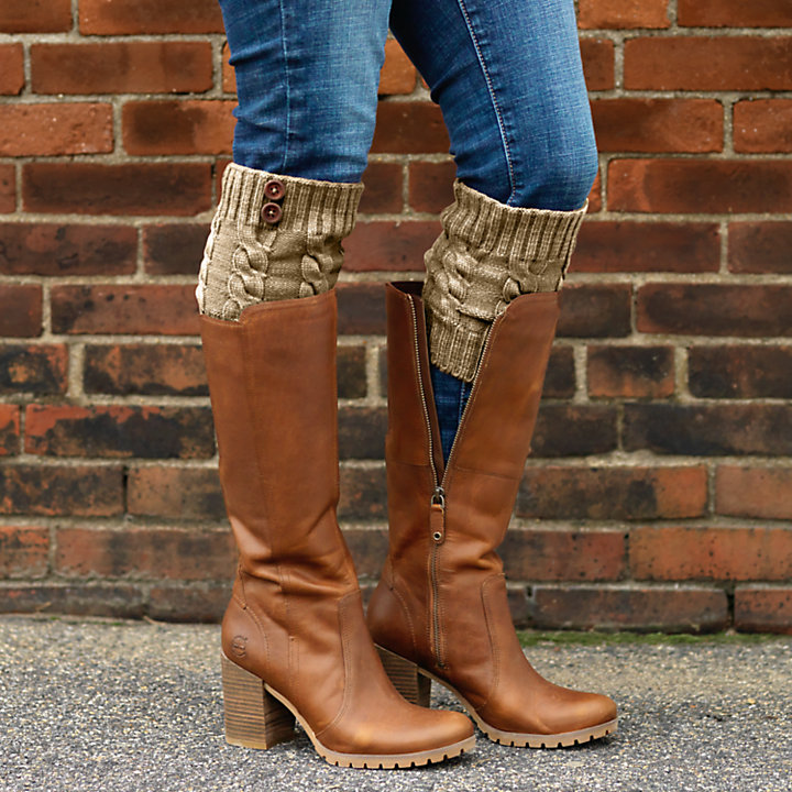 Women's Chunky Knit Boot Cuffs-